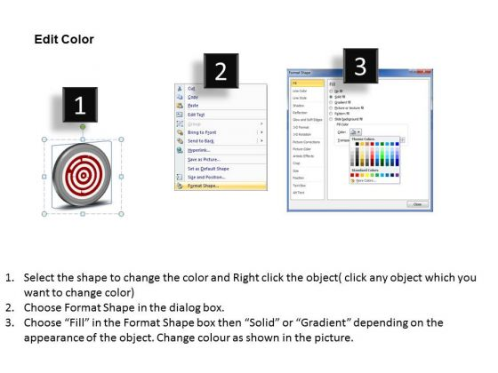 arrow_pointing_2012_to_2015_technology_target_powerpoint_templates_ppt_slides_graphics_3
