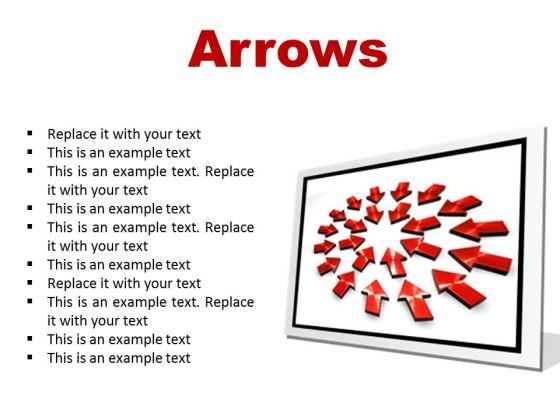 Arrows Business PowerPoint Presentation Slides F