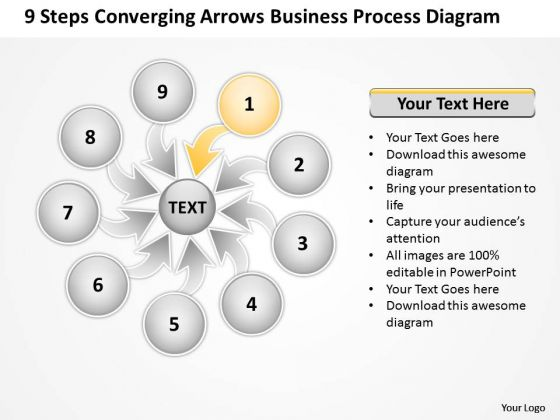 Arrows Business PowerPoint Theme Process Diagram Ppt 2 Cycle Flow Chart Templates
