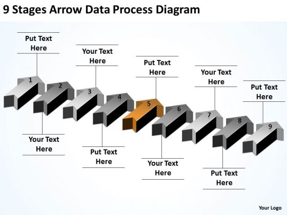 Arrows In PowerPoint 2010 Process Diagram Ppt 6 Templates Backgrounds For Slides