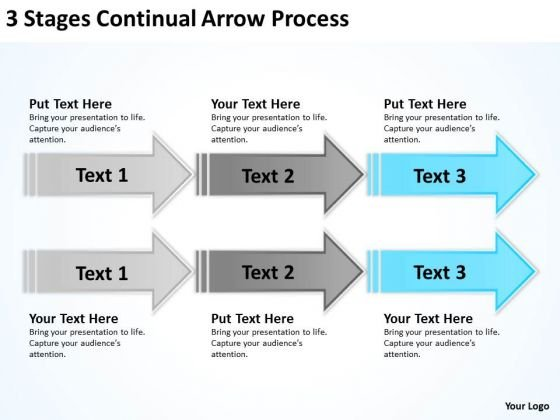 Arrows PowerPoint Continual Process Ppt Templates Backgrounds For Slides