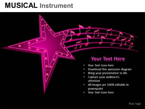 Art Musical Instrument PowerPoint Slides And Ppt Diagram Templates