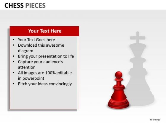 Aspirations Concept Chess Pieces PowerPoint Slides And Ppt Diagram Templates