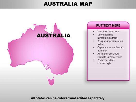 Australia PowerPoint Maps