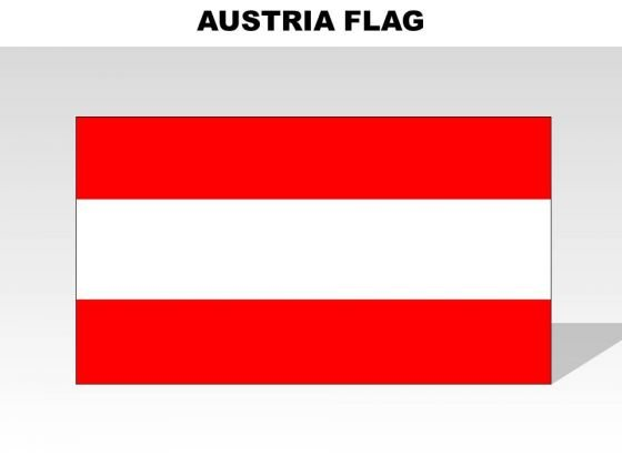 Austria Country PowerPoint Flags