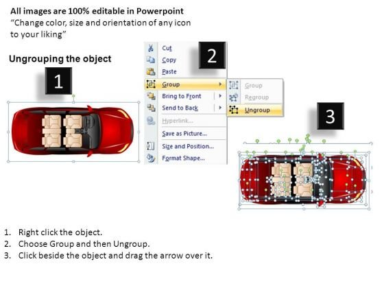 automobile_4_door_red_car_top_view_powerpoint_slides_and_ppt_diagrams_templates_2
