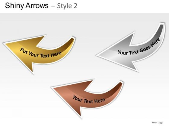 Automobile Shiny Arrows 2 PowerPoint Slides And Ppt Diagram Templates
