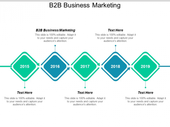 B2B Business Marketing Ppt PowerPoint Presentation Ideas Slide Cpb