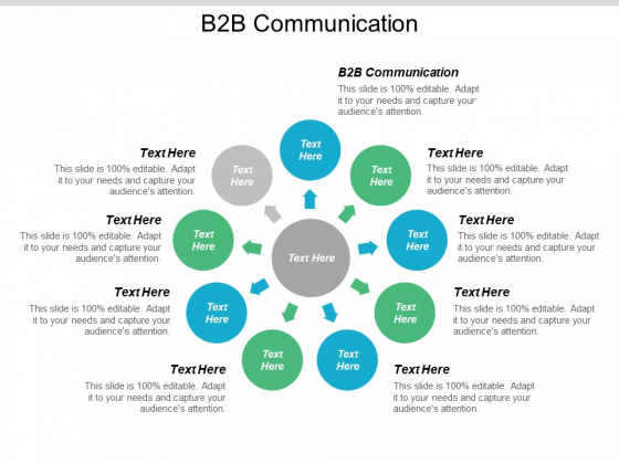 B2B Communication Ppt PowerPoint Presentation Pictures Visual Aids Cpb