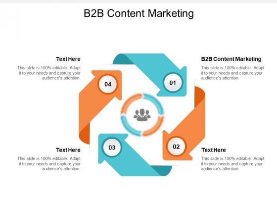B2B Content Marketing Ppt PowerPoint Presentation Portfolio Guidelines Cpb