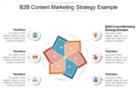 B2B Content Marketing Strategy Example Ppt PowerPoint Presentation Picture Cpb Pdf
