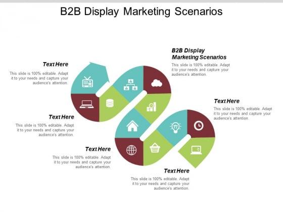 B2B Display Marketing Scenarios Ppt PowerPoint Presentation Icon Professional Cpb