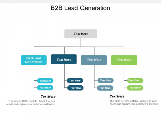 B2B Lead Generation Ppt PowerPoint Presentation Outline Introduction Cpb