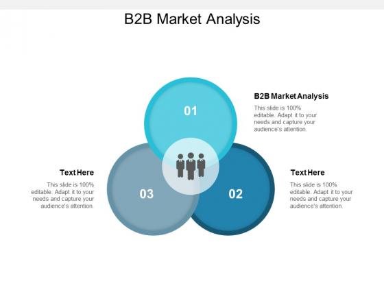 B2B Market Analysis Ppt PowerPoint Presentation Outline Templates Cpb