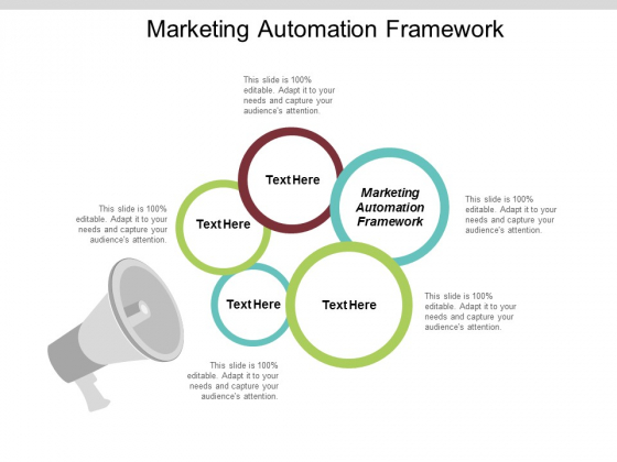 B2B Marketing Automation Framework Ppt PowerPoint Presentation Icon Skills Cpb