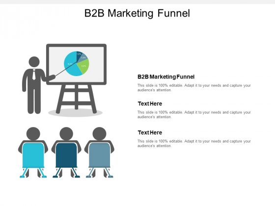 B2B Marketing Funnel Ppt PowerPoint Presentation Icon Backgrounds Cpb