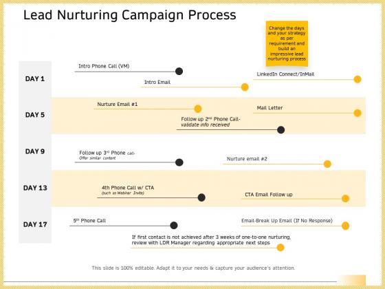 B2B Marketing Lead Nurturing Campaign Process Ppt Pictures Mockup PDF