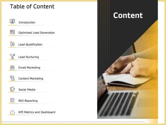 B2B_Marketing_Table_Of_Content_Ppt_Professional_Microsoft_PDF_Slide_1