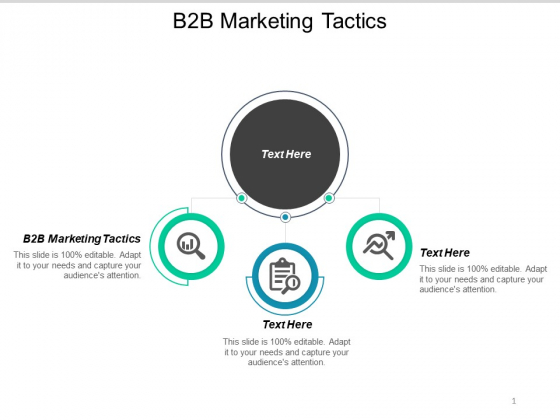 B2B Marketing Tactics Ppt PowerPoint Presentation Layouts File Formats Cpb