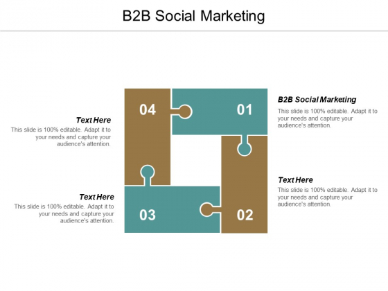 B2B Social Marketing Ppt PowerPoint Presentation Gallery Graphics Template