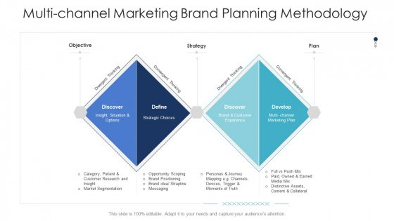 B2C Marketing Initiatives Strategies For Business Multi Channel Marketing Brand Planning Methodology Ppt Gallery Show PDF