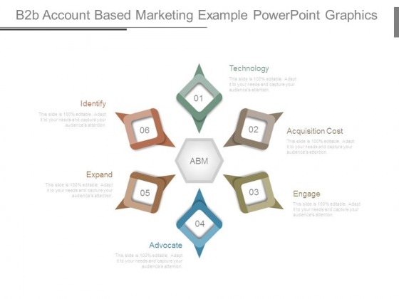 B2b Account Based Marketing Example Powerpoint Graphics