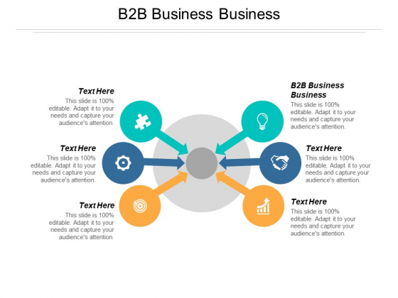 B2b Business Business Ppt PowerPoint Presentation Visual Aids Outline Cpb