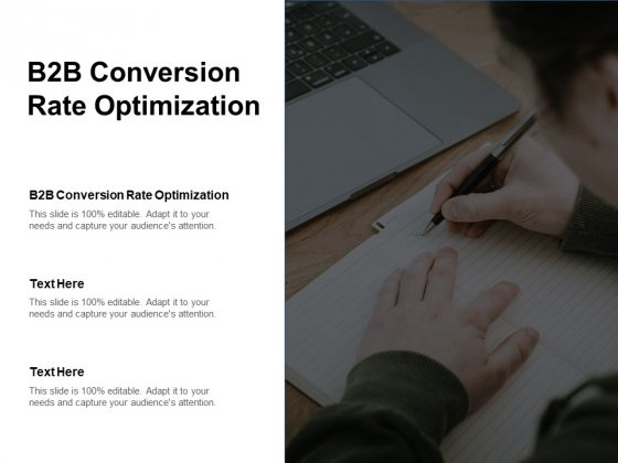 B2b Conversion Rate Optimization Ppt PowerPoint Presentation Styles Gallery Cpb