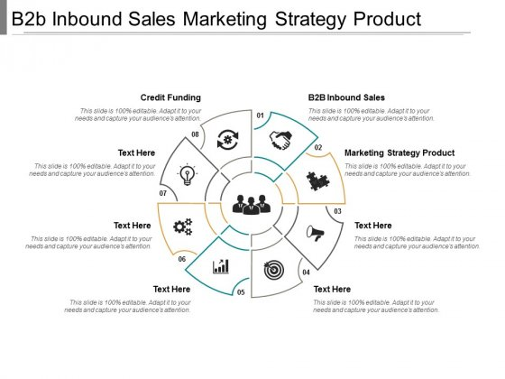 B2b Inbound Sales Marketing Strategy Product Credit Funding Ppt PowerPoint Presentation File Layout
