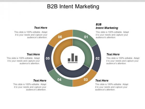 B2b Intent Marketing Ppt PowerPoint Presentation Ideas Graphics Example Cpb