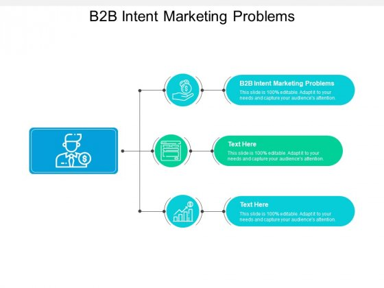 B2b Intent Marketing Problems Ppt PowerPoint Presentation Infographic Template Deck Cpb