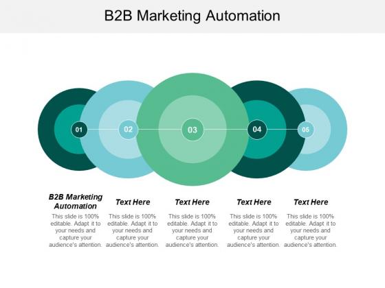 B2b Marketing Automation Ppt PowerPoint Presentation Professional Demonstration Cpb