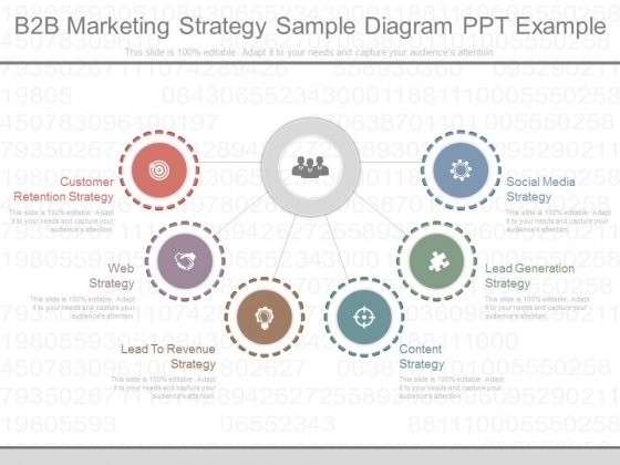 b2b marketing strategy sample diagram ppt example powerpoint templates