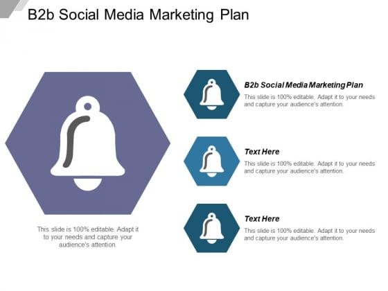 B2b Social Media Marketing Plan Ppt PowerPoint Presentation Infographics Graphics Design