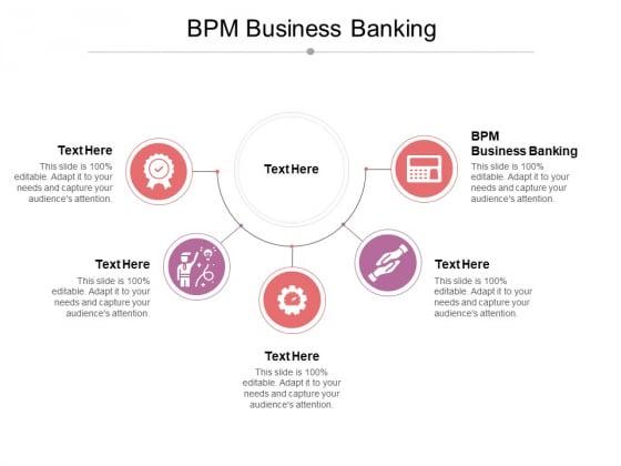 BPM Business Banking Ppt PowerPoint Presentation Portfolio Layouts Cpb