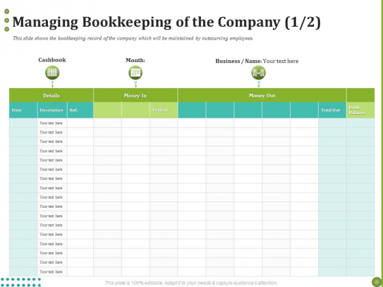 BPO Managing Enterprise Financial Transactions Managing Bookkeeping Of The Company Month Demonstration PDF