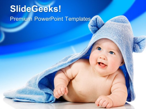 Baby Care Free PowerPoint Template