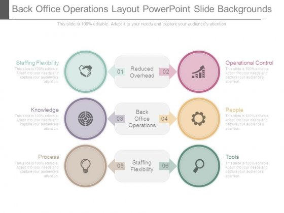 Back Office Operations Layout Powerpoint Slide Backgrounds