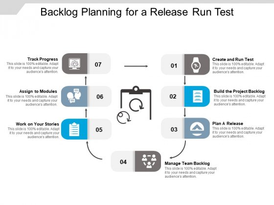Backlog Planning For A Release Run Test Ppt PowerPoint Presentation Icon Styles