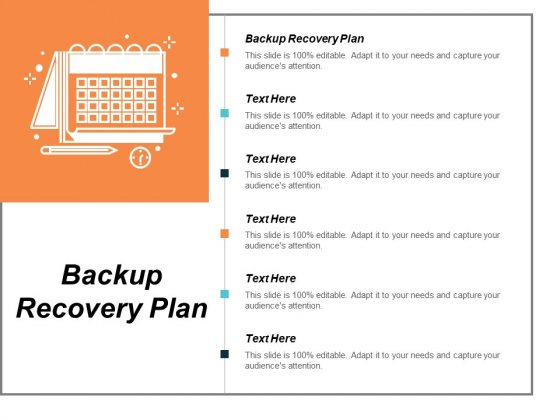 Backup Recovery Plan Ppt PowerPoint Presentation Slides Grid Cpb