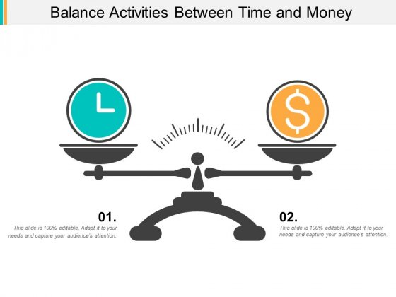 Balance Activities Between Time And Money Ppt Powerpoint Presentation Gallery Display
