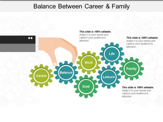 Balance Between Career And Family Ppt PowerPoint Presentation Show Rules