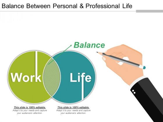 Balance Between Personal And Professional Life Ppt PowerPoint Presentation Guide