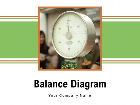Balance Diagram Measuring Groceries Scale Placed Ppt PowerPoint Presentation Complete Deck