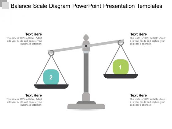 Balance Scale Diagram Powerpoint Presentation Templates Ppt