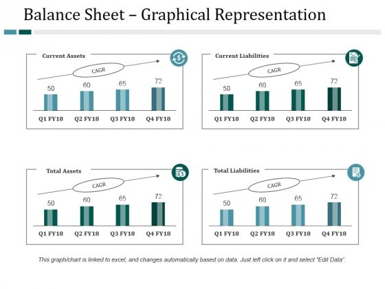 Balance Sheet Graphical Representation Ppt PowerPoint Presentation Inspiration Information