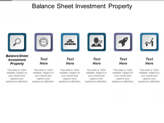 Balance Sheet Investment Property Ppt PowerPoint Presentation Layouts Model