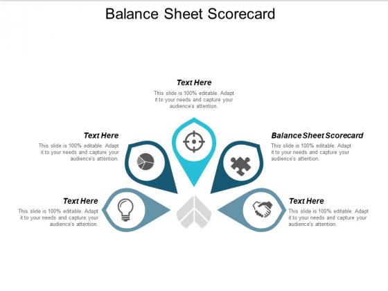 Balance Sheet Scorecard Ppt PowerPoint Presentation File Information Cpb