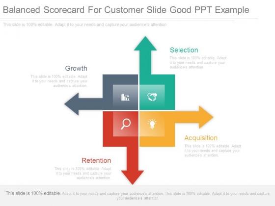 Balanced Scorecard For Customer Slide Good Ppt Example