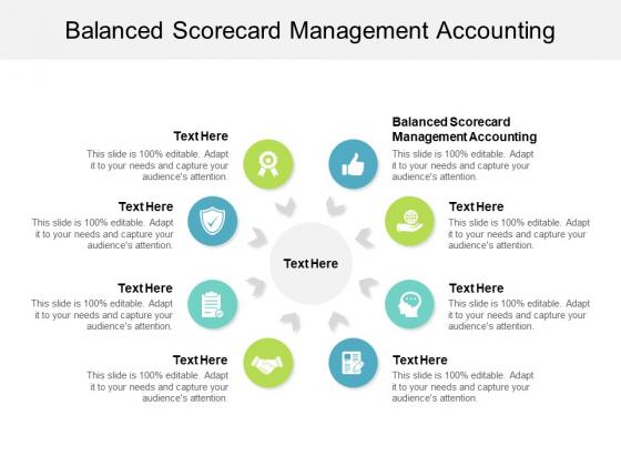 Balanced Scorecard Management Accounting Ppt PowerPoint Presentation Portfolio Slides Cpb
